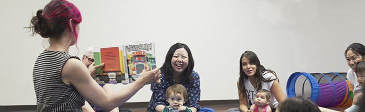activité pour les parents et bébés