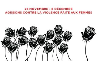 12 jours d'actions contre la violence faite aux femmes