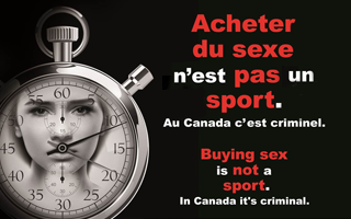 """Buying Sex is not a Sport"""