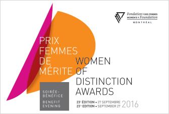 Soirée bénéfice Prix femmes de mérite