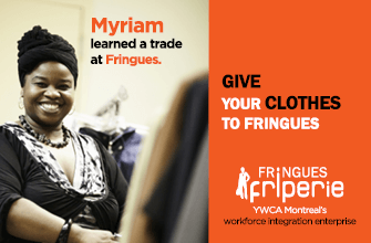 Myriam learned a trade at Fringues