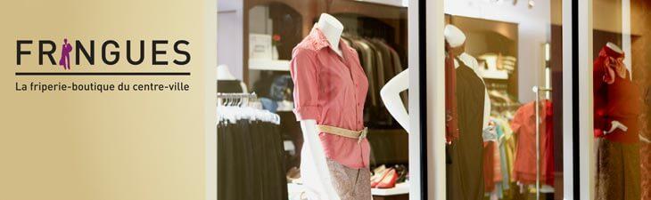 Fringues friperie boutique vêtements femmes centre-ville Montréal