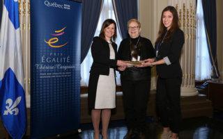 Le Prix Égalité pour le projet de réalité virtuelle sur le consentement sexuel