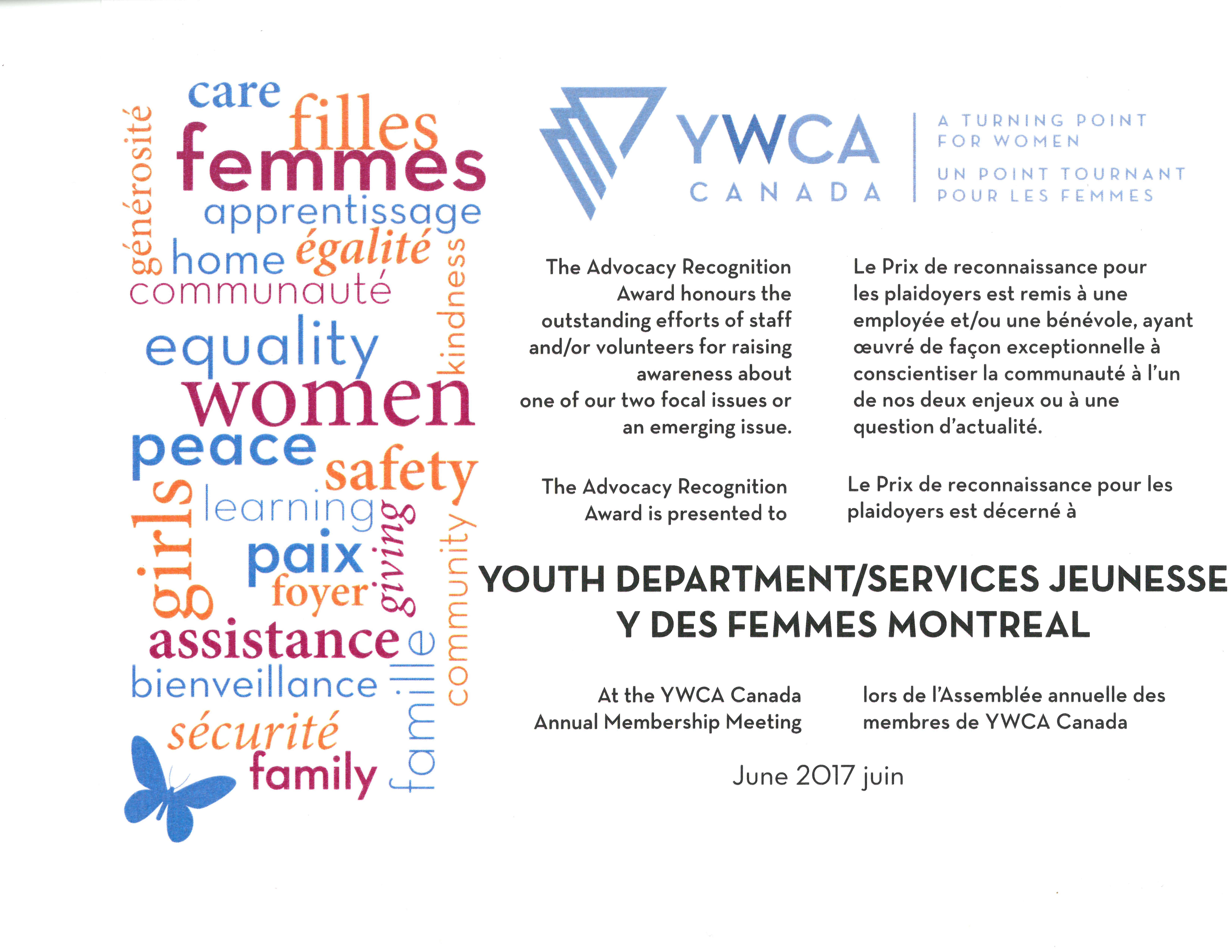 Deux prix d'innovation et d'advocacy pour les services jeunesse