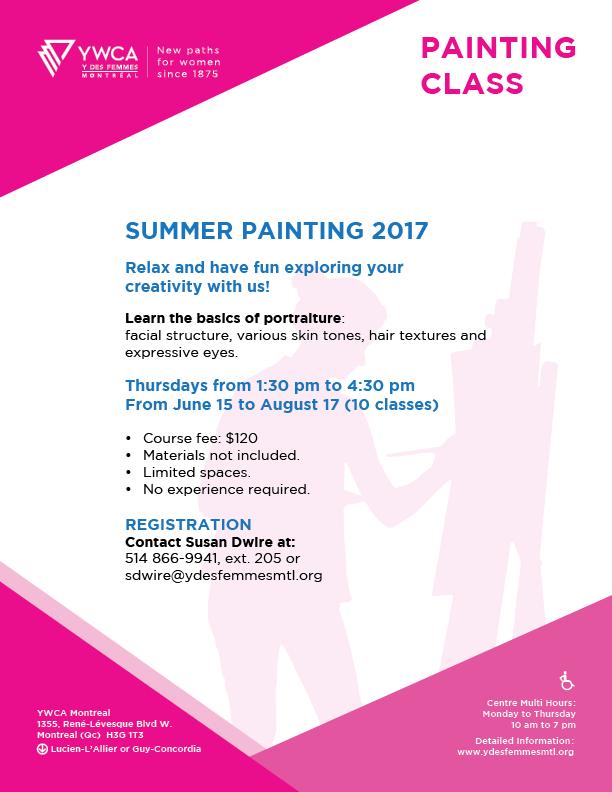 YWCA.Cours de peinture_E2017-EN