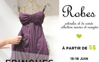 Vente spéciale de robes d'été et de soirée à partir de 5 $