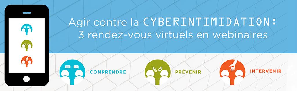 Agir contre la cyberintimidation: 3 rendez-vous virtuels