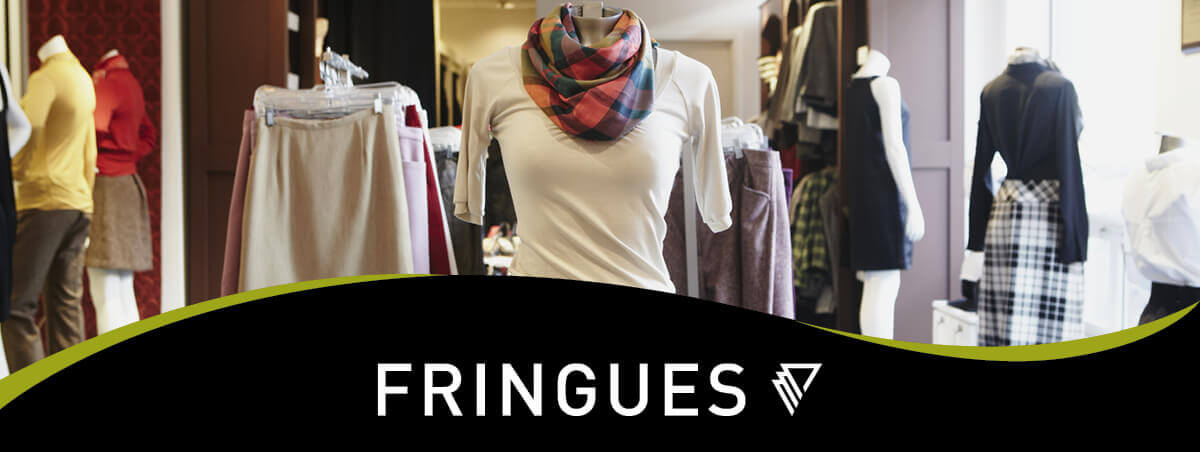 Fringues thrift-boutique