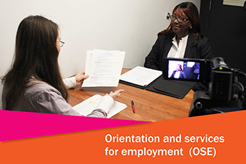 orientation and services for employment