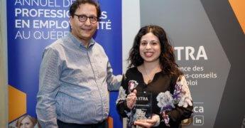 Antonella Talarico remporte le Prix Reconnaissance 2018 d'AXTRA