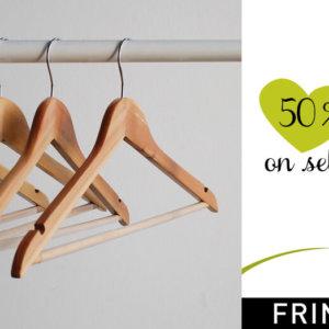 Fringues 50% discount