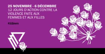 12 jours contre les violences faites aux femmes