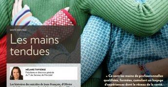 [Lettre d'opinion] Santé mentale : Les mains tendues