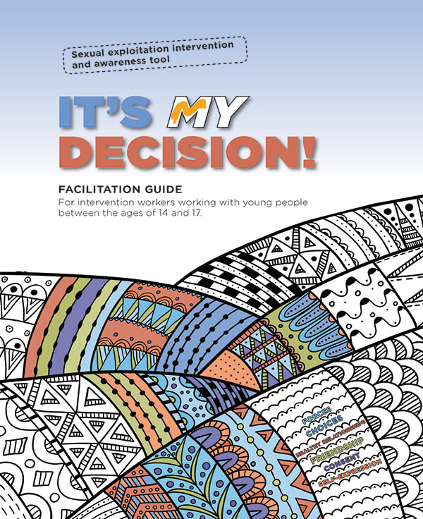 It's my decision! Facilitation guide cover